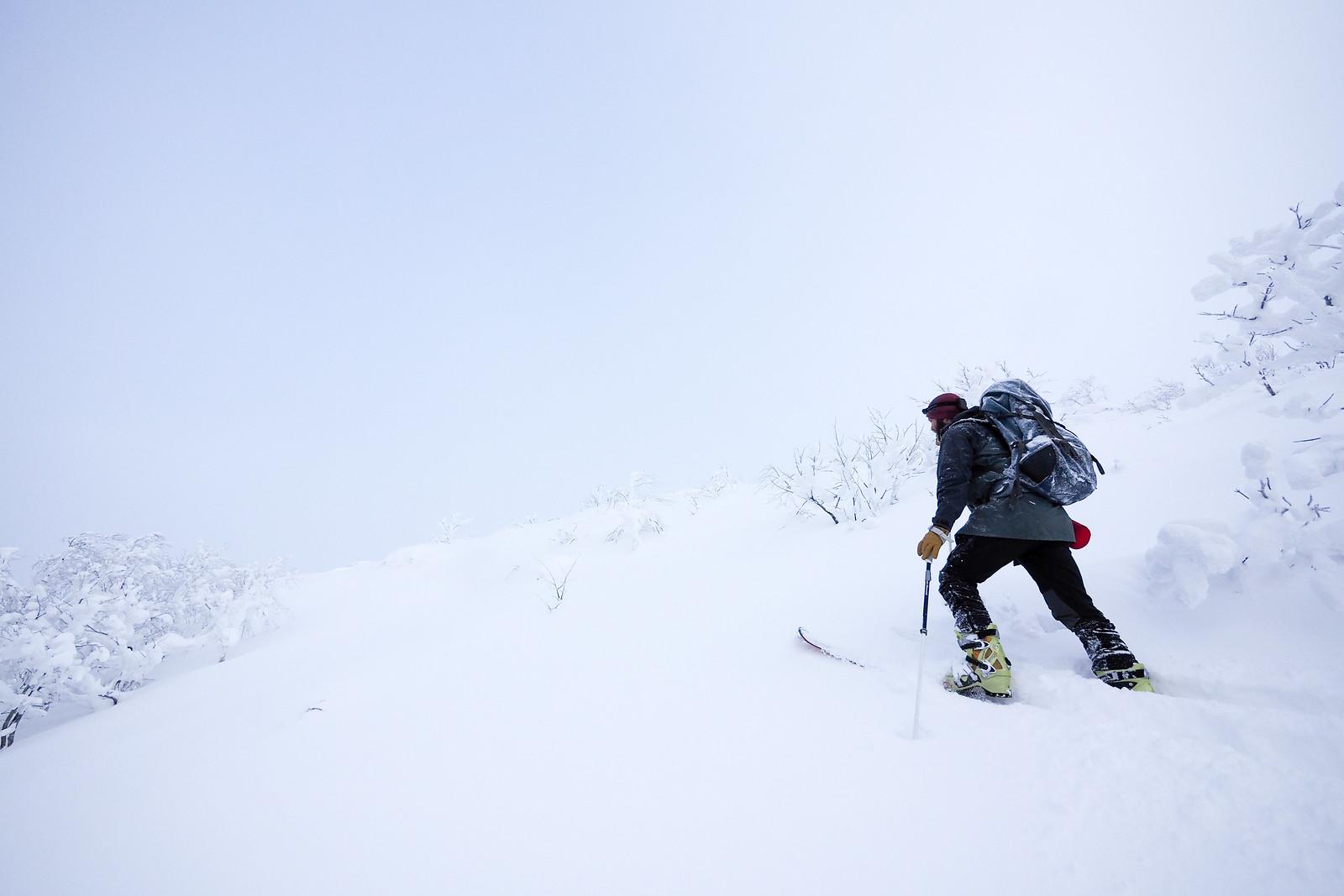 Mt. Soranuma Overnight Ski Tour (Hokkaido, Japan)