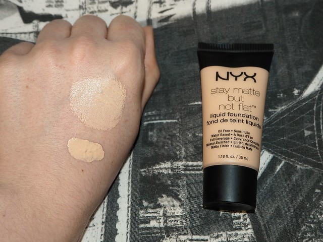 NYX Stay Matte but Not Flat Swatch