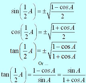 Sum, Difference, Double, Half Angle Formulae-3