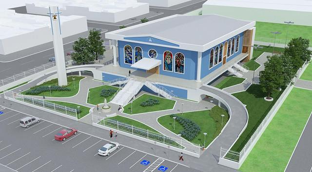 Projeto de Construção da Paróquia