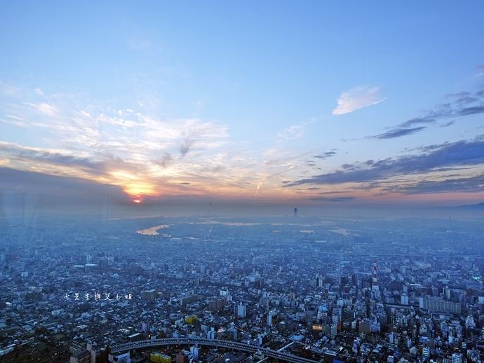 24 日本大阪 阿倍野展望台 HARUKAS 300 日本第一高摩天大樓 360度無死角視野 日夜皆美