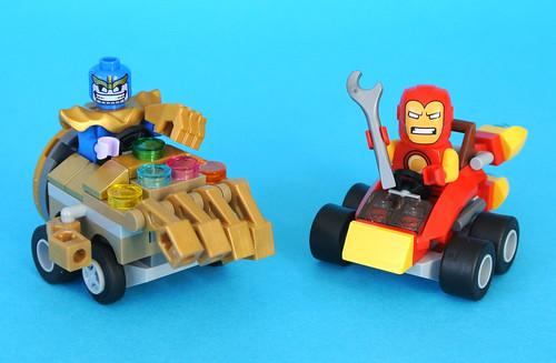 76072 Mighty Micros: Iron Man vs. Thanos