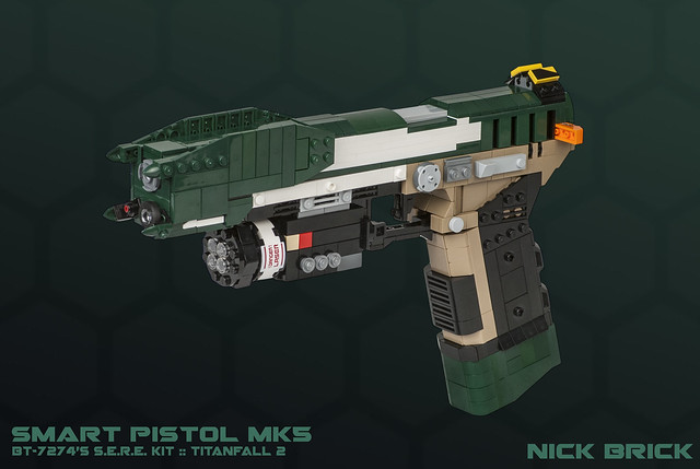 Smart Pistol MK5 - Titanfall 2
