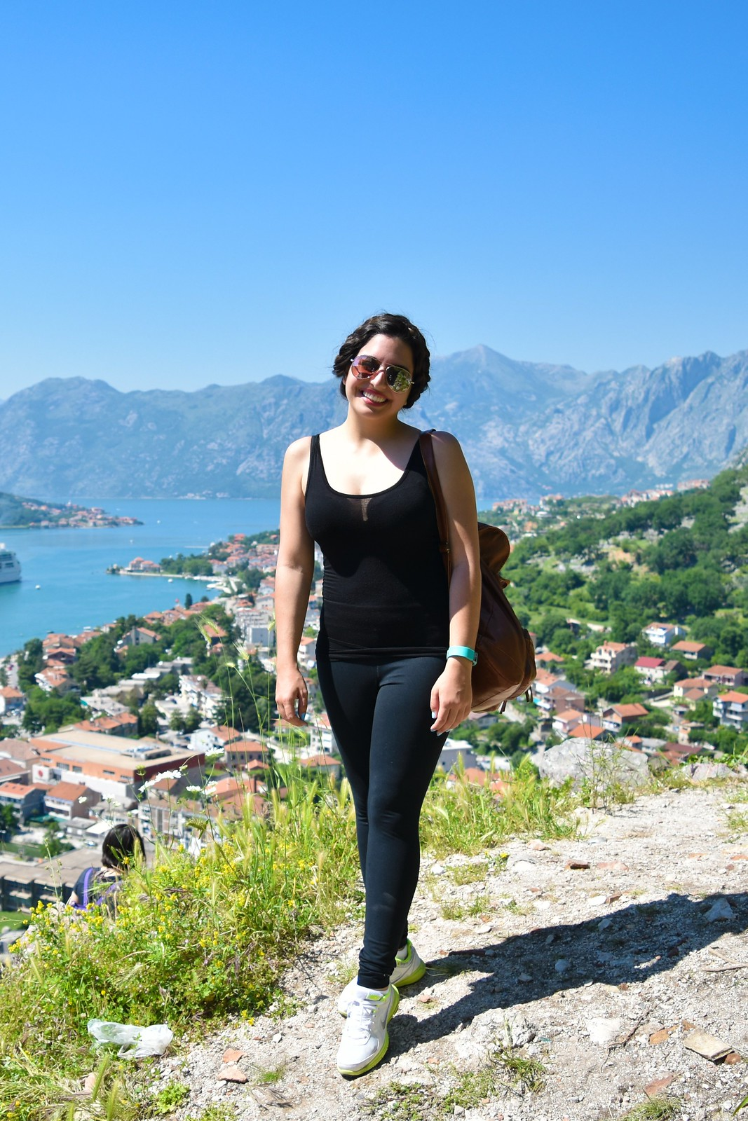 From the slope of St. John Mountain, Kotor, Montenegro