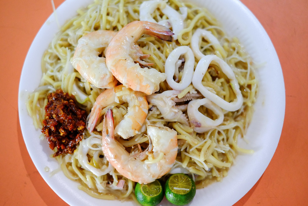 Tiong Bahru Yi Sheng Fried Prawn Mee