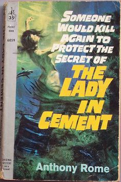 Lady in Cement - Book Cover 1