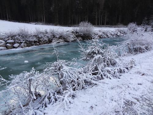Frosty Gschnitzbach, Gschnitztal day walk