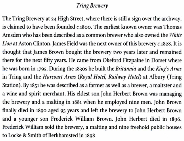 Tring-brewery-history
