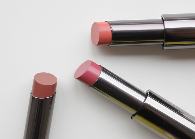 Lise Watier Rouge Intense Supreme in Kelly, Daphne and Maya review and swatches