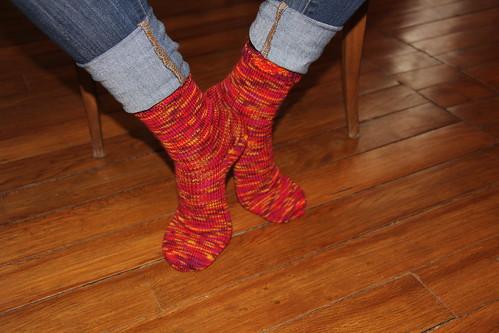 {Tricot} J'apprends à tricoter des chaussettes #3