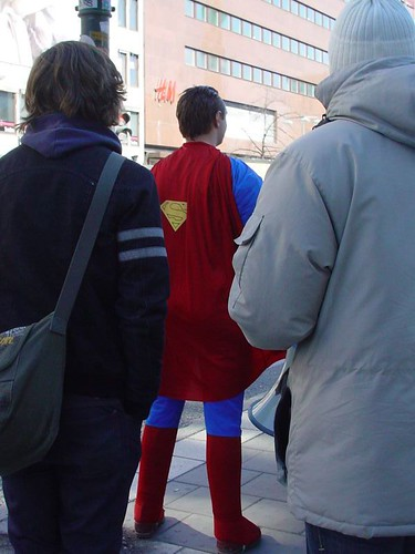 Superman lives in Stockholm! | by lafalott