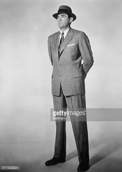 The Man in the Gray Flannel Suit - Promo Photo 1 - Gregory Peck