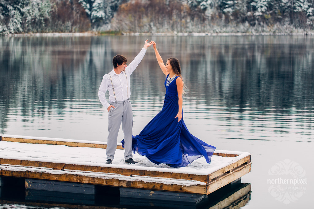Lake Engagement Session