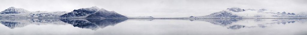 Bonneville Salt Flats Flooded