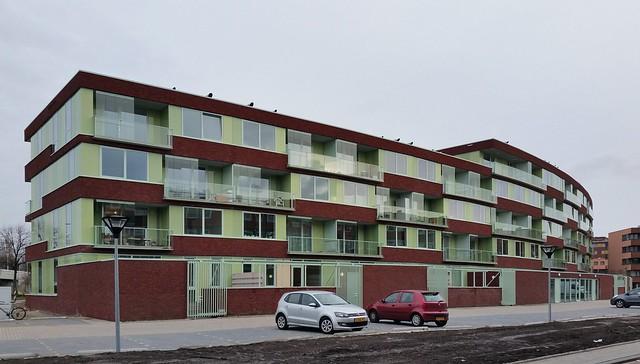 Woongebouw schieoevers i nieuwbouw architectuur rotterdam for Nieuwbouw rotterdam huur