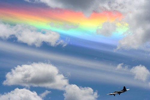 Rainbow Cloud | by Todd Sackmann