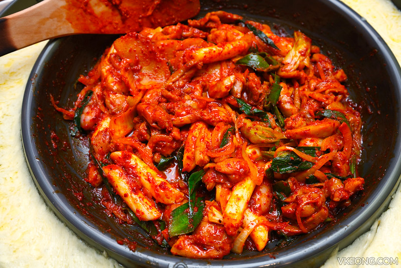 Yoogane Chicken and Cheese Dak Galbi