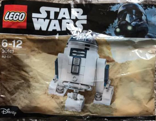 Lego Star Wars R2 D2 30611 Polybag Building Instructions The