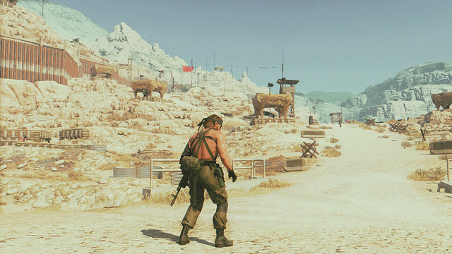 Metal Gear Solid V - Rambo III Kodak 5247 Mod