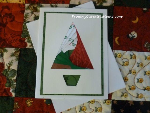 Christmas Tree folded iris 2 done
