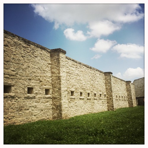 Fort de Chartres Wall