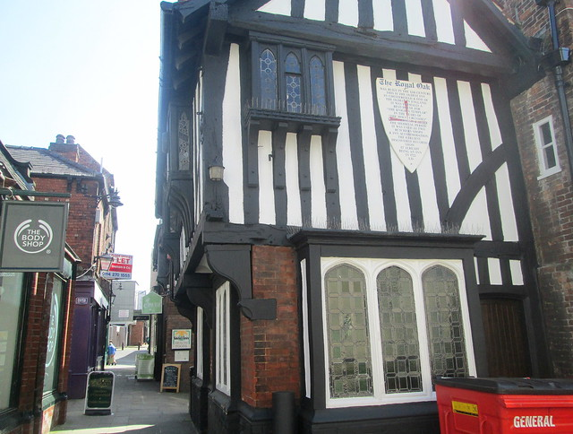 Tudor Style Timbering, Chesterfield