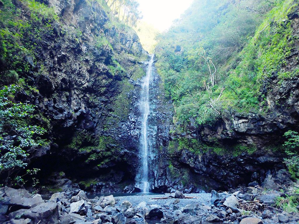 Alelele Falls à Maui, Hawaï