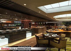 3D Restaurant Design Rendering | by Singapore 3D Interior Design Rendering