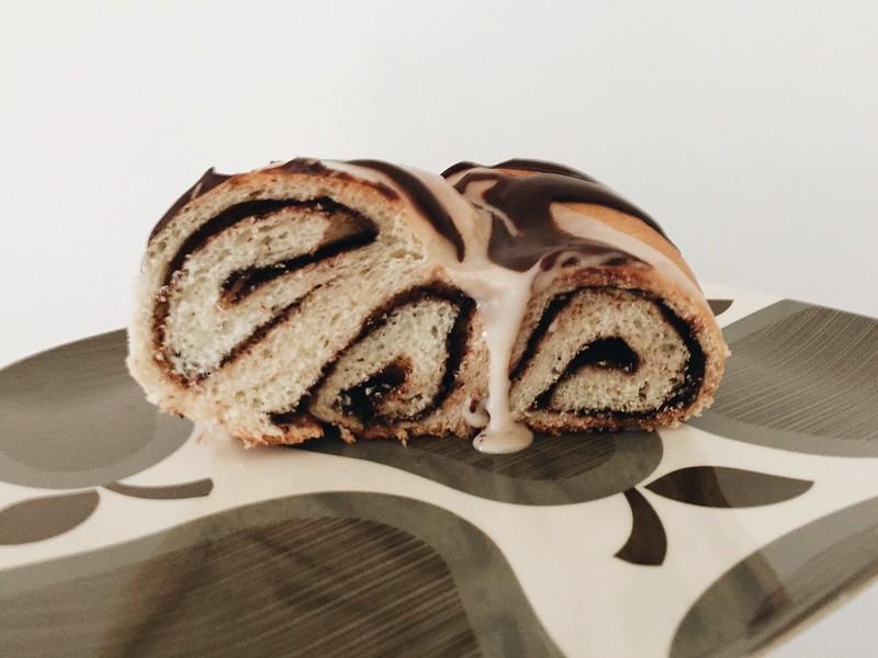 Vegan Chocolate Cookie Butter King Cake