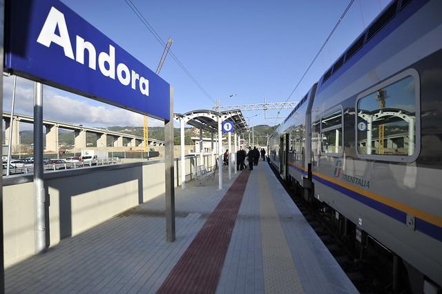 FS - Inaugurazione raddoppio linea San Lorenzo - Andora