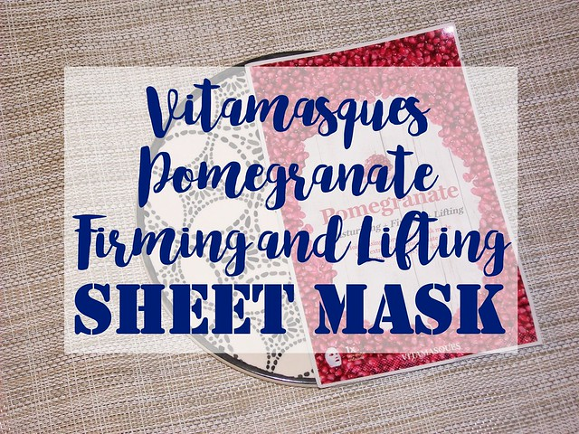 Vitamasques Pomegranate Firming & Lifting Sheet Mask