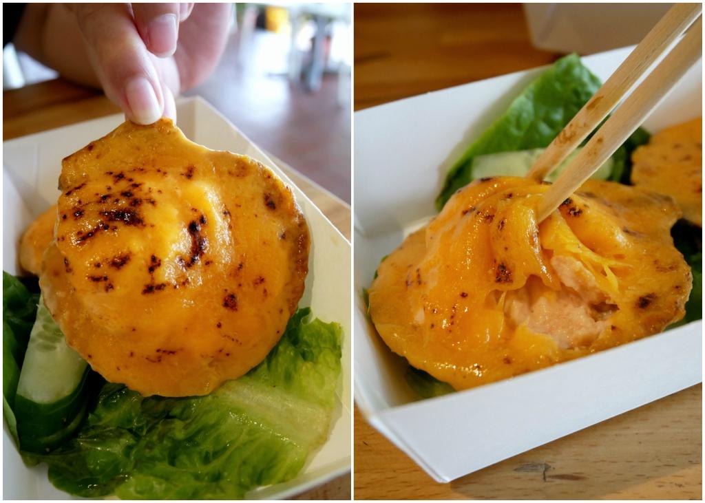 Tachinomiya烤干酪扇贝拼贴画
