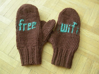 free wifi mittens | by dorywithserifs