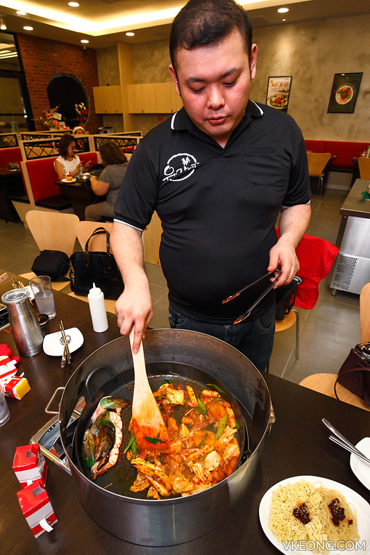 Yoogane Cooking Dak Galbi