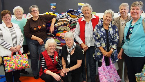 Wrap with Love Knitting Volunteers