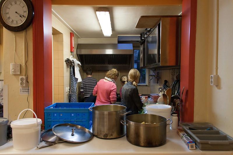 Koken voor daklozen 2014