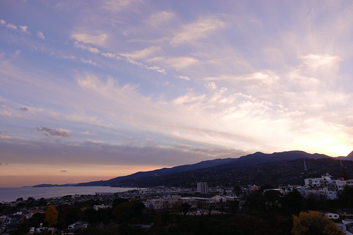 Odawara sky from Odawara castle tower 17
