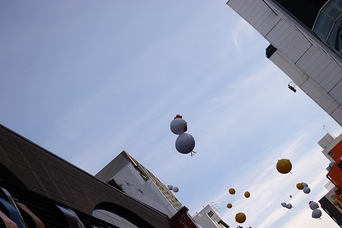 Odawara sky balloon art 01