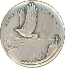 1970 MAINE SESQUICENTENNIAL MEDAL obverse