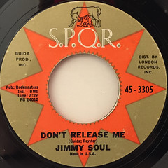 JIMMY SOUL:IF YOU WANNA BE HAPPY(LABEL SIDE-B)