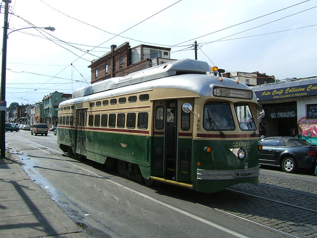 Philadelphia PCC car