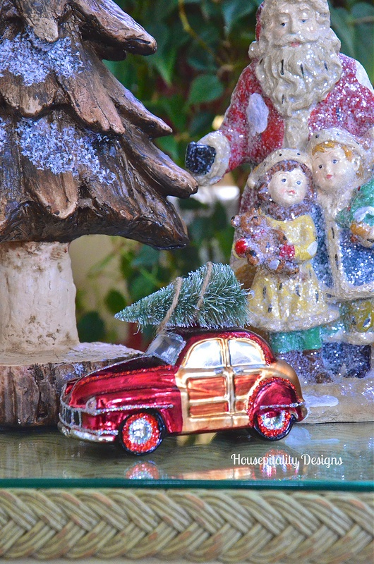 Reproduction Santa-Pottery Barn Ornament-HousepitalityDesigns