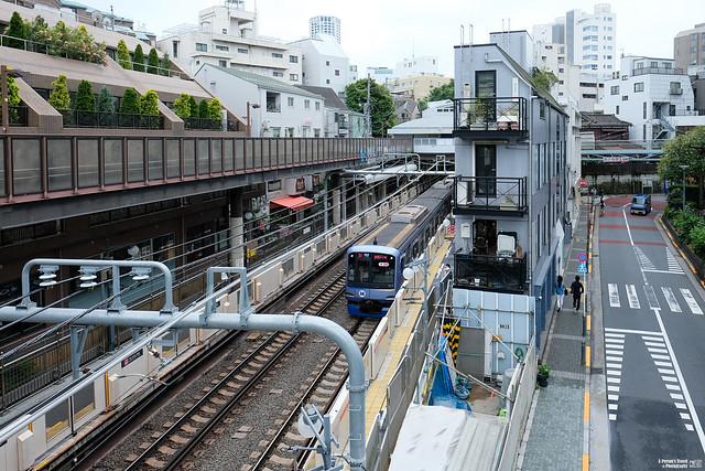 東急東橫線 代官山站