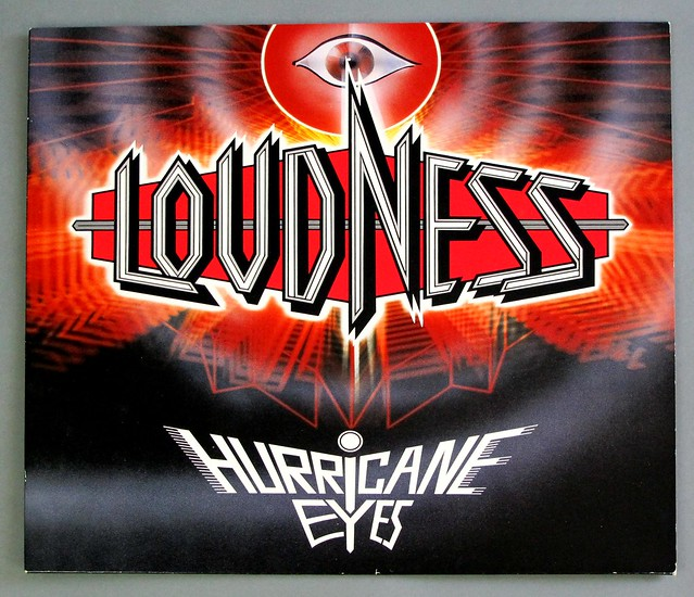 "Loudness Hurricane Eyes 12"" VINYL LP"