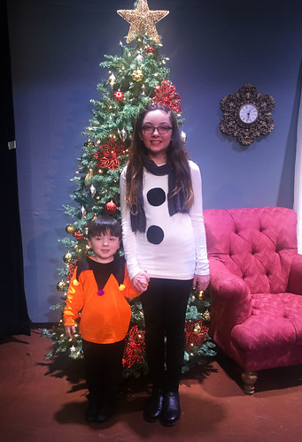 Jack and Julia after their Christmas Show
