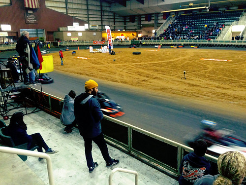 Indoor Go Kart Track Williamston (Jan 8 2016)