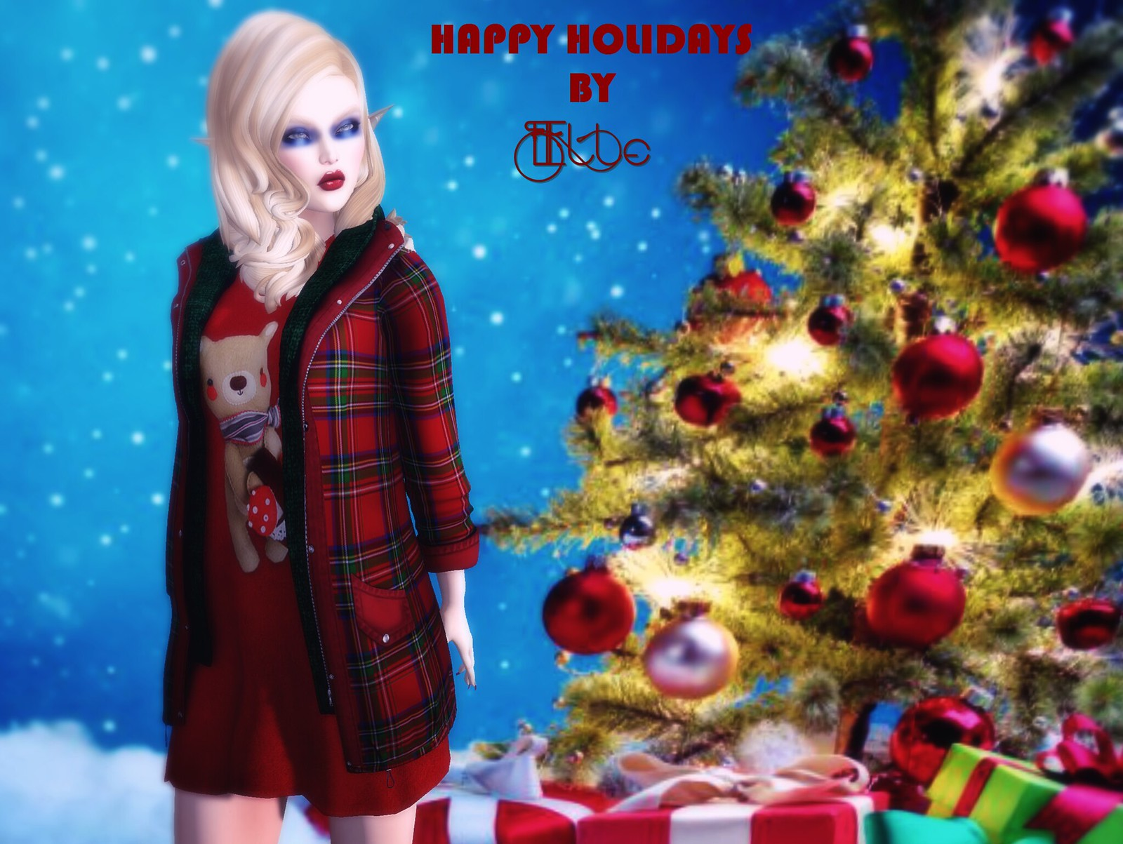 Happy Holidays by Elle