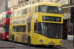 Wrightbus NRM NBFL - LTZ 1219 - LT219 - Lego Store - Mildmay Park 38 - Arriva - London - 161203 - Steven Gray - IMG_8961