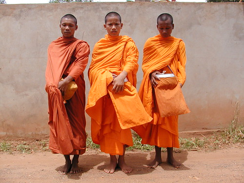 Monks in Roteang Village | by cambodia4kidsorg