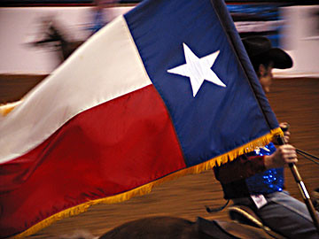 Flag Rider, Cowtown Rodeo Grand Entry, 2005 | by panopticon